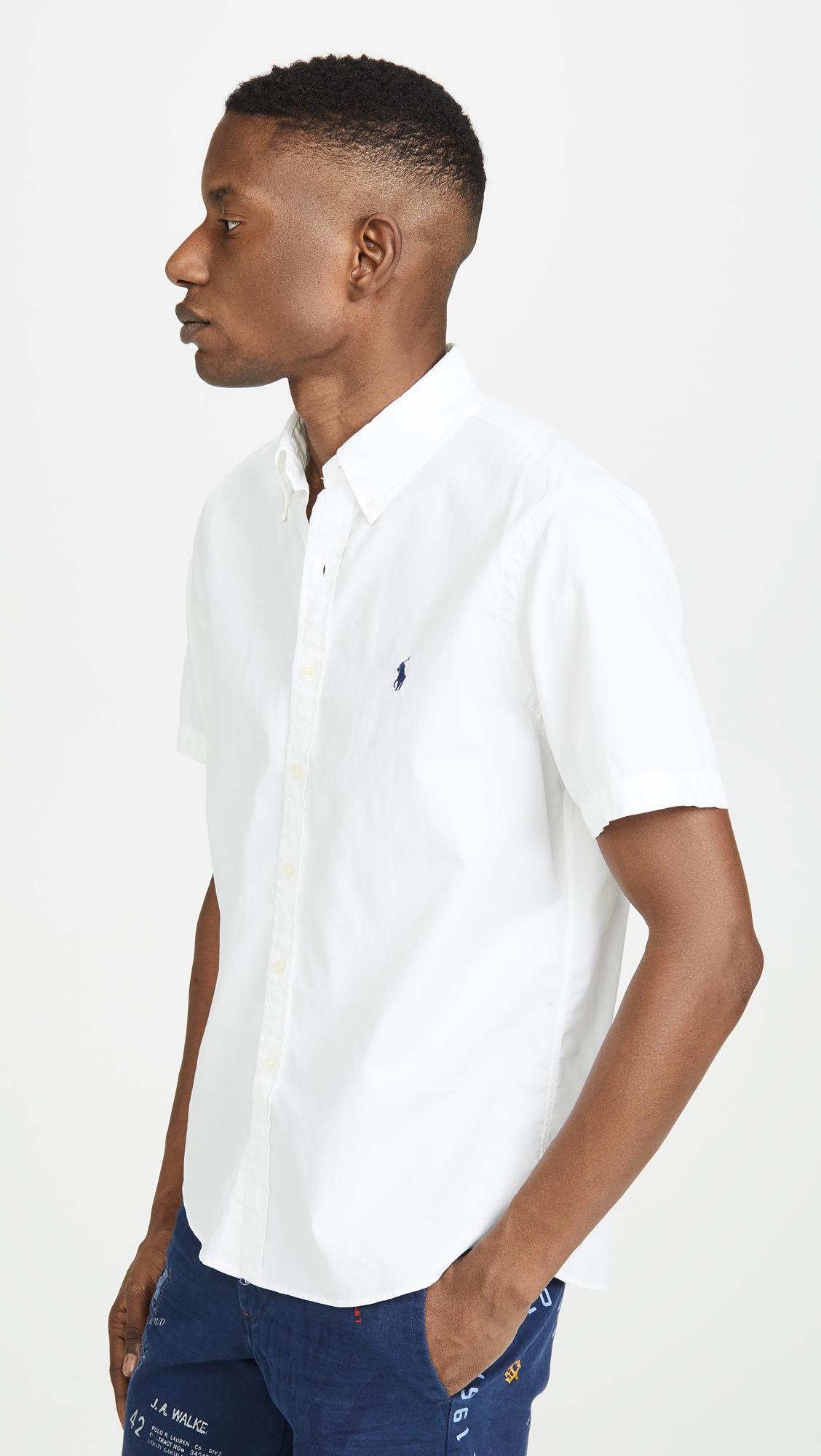 445a7f228 Polo Ralph Lauren Short Sleeve Chino Shirt