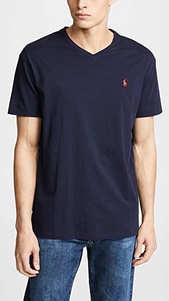 Polo Ralph Lauren Tops V NECK CLASSIC FIT TEE SHIRT