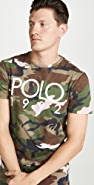 Polo Ralph Lauren Short Sleeve Camo Logo Tee