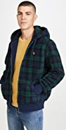 Polo Ralph Lauren Blackwatch Plaid Full Zip Hoodie