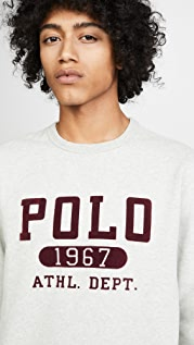 Polo Ralph Lauren Vintage Fleece Crew Neck Sweatshirt