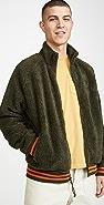 Polo Ralph Lauren Vintage Sherpa Full Zip Sweatshirt