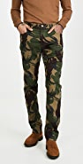 Polo Ralph Lauren Stretch Corduroy Camo Trousers