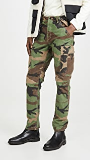 Polo Ralph Lauren Slub Cotton Canvas Cargo Pants
