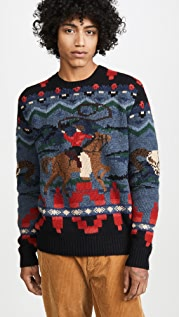 Polo Ralph Lauren Polo Rodeo Wool Sweater