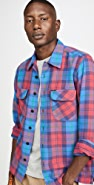 Polo Ralph Lauren Brushed Cotton Plaid Button Down Shirt