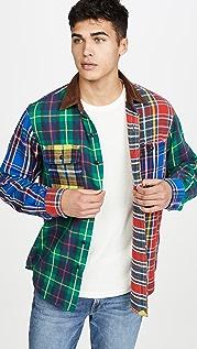 Polo Ralph Lauren Brushed Cotton Plaid Button Down Fun Shirt