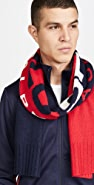 Polo Ralph Lauren Polo Sport Colorblock Knit Scarf