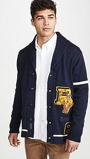 Polo Ralph Lauren Shawl Collar Embroidered Logo Cardigan