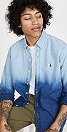 Polo Ralph Lauren Long Sleeve Indigo Dye Shirt