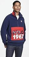 Polo Ralph Lauren Quarter Zip Logo Sweatshirt