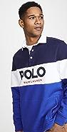 Polo Ralph Lauren Fleece Logo Rugby Shirt