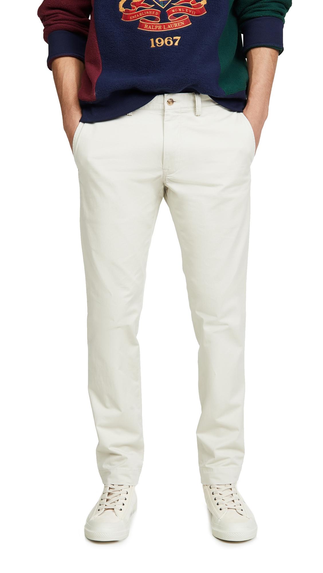 Polo Ralph Lauren Slim Fit Stretch Chino Pants