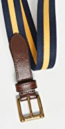 Polo Ralph Lauren Striped Print Stretch Belt