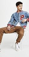 Polo Ralph Lauren Denim Letterman Jacket