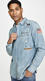 Polo Ralph Lauren Long Sleeve Chambray Shirt