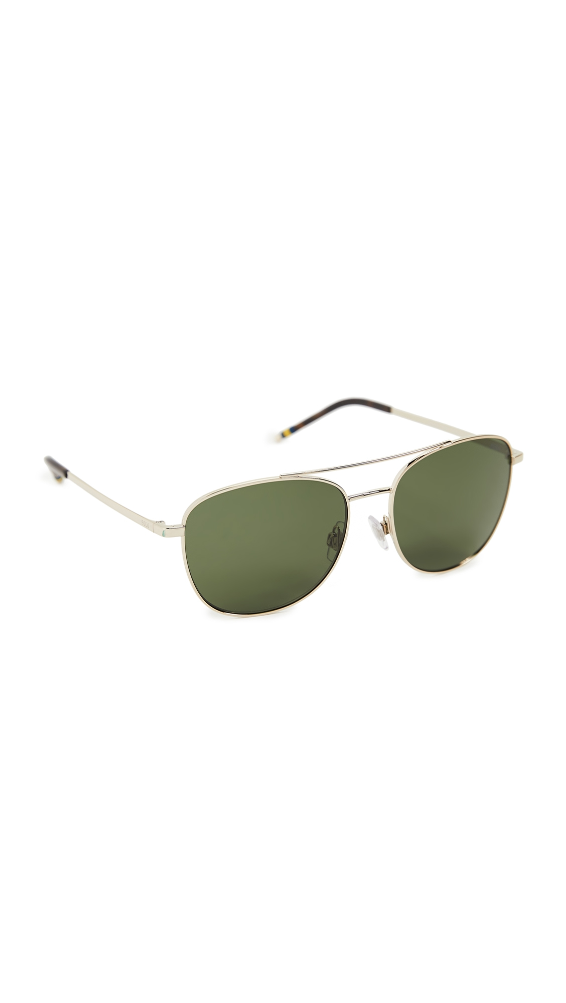 Polo Ralph Lauren 0ph3127-sunglasses In Shiny Pale Gold