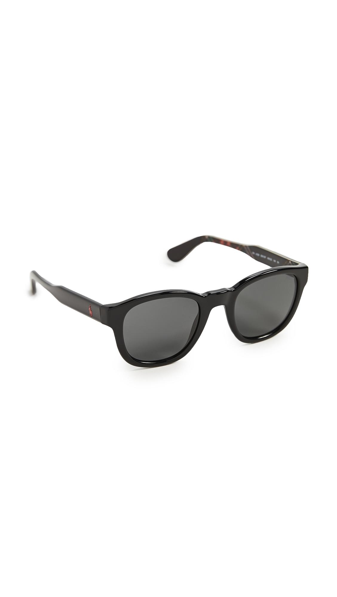 Polo Ralph Lauren 0ph4159-sunglasses In Shiny Black/black