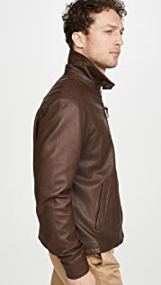 Polo Ralph Lauren Leather Windbreaker