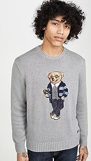 Polo Ralph Lauren Long Sleeve Bear Sweater