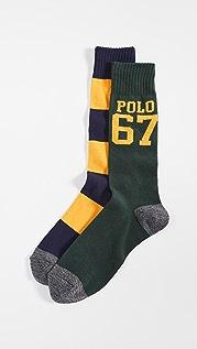 Polo Ralph Lauren Polo 67 HT 2 Pack Socks