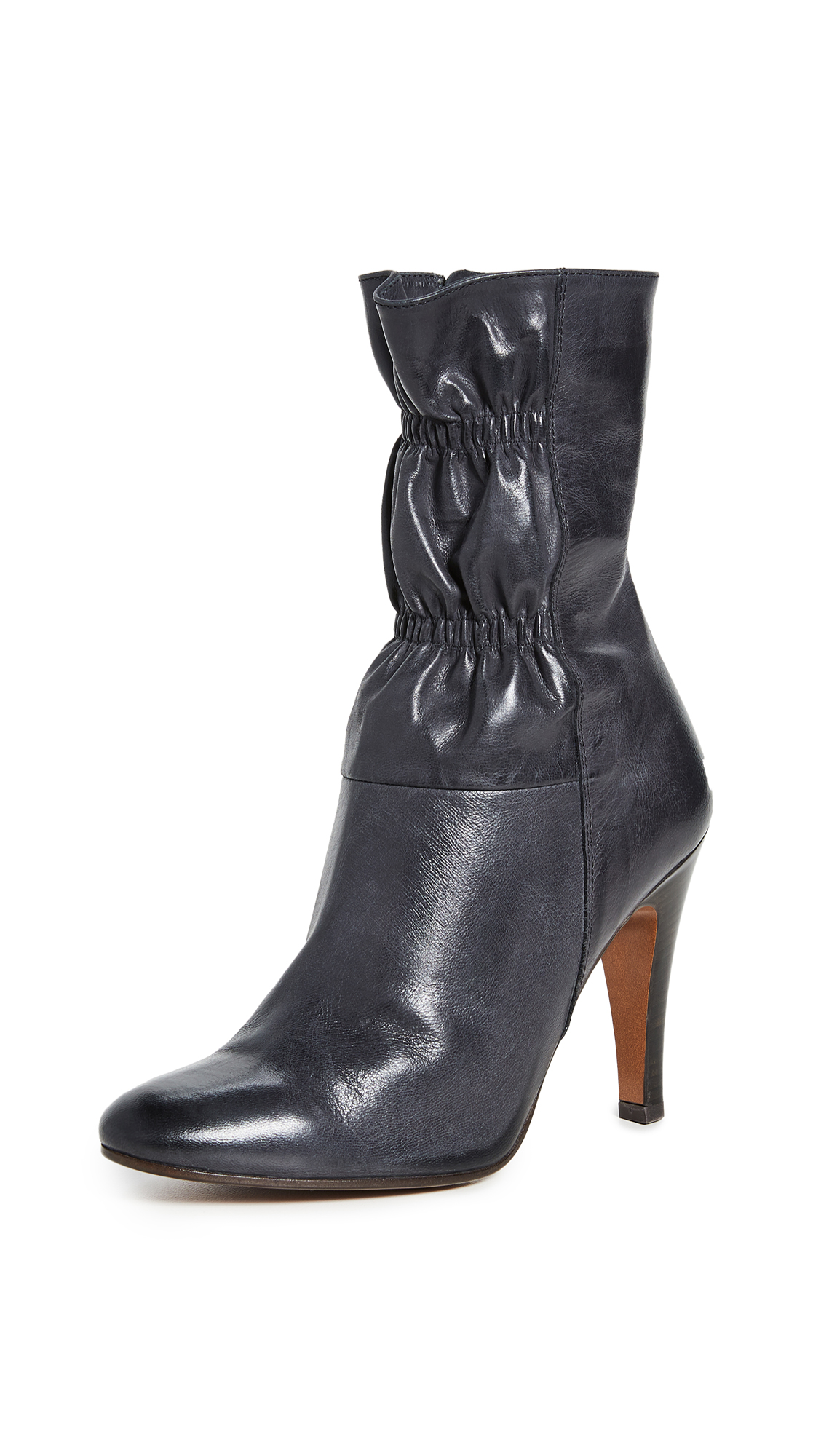 Runway Marc Jacobs Short 100mm Scrunch Boots - 70% Off Sale