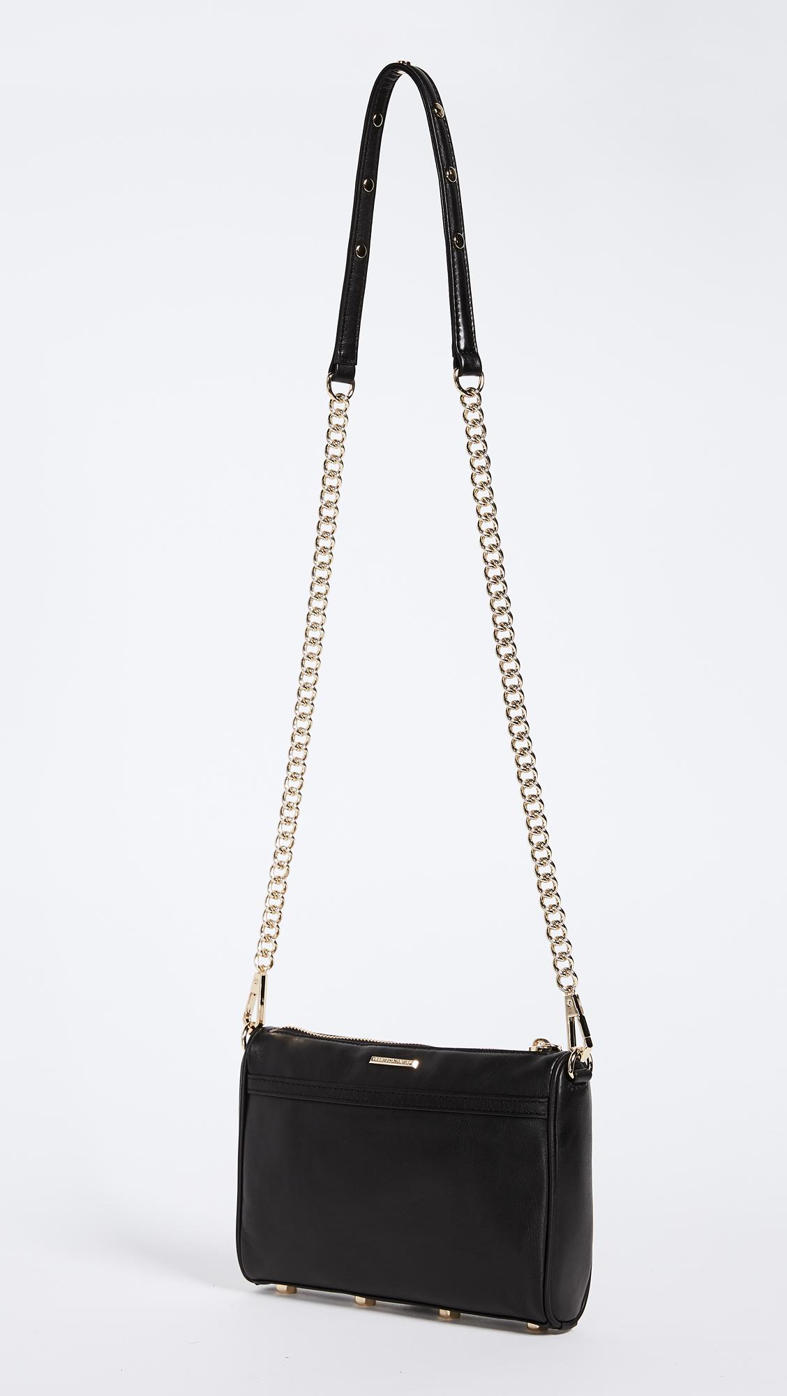 Rebecca Minkoff Mini Mac Bag Shopbop Shanghai Gold Crossbody Black
