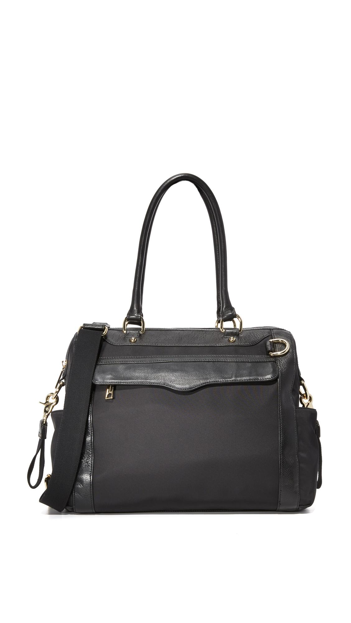Rebecca Minkoff Knocked Up Baby Bag - Black/Black