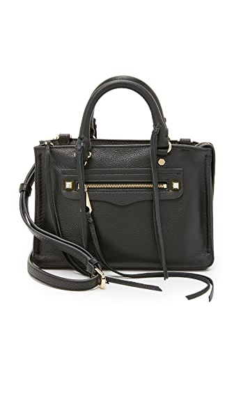 Rebecca Minkoff Micro Regan Satchel - Black