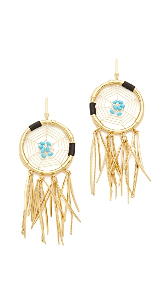 Rebecca Minkoff Large Dreamcatcher Earrings