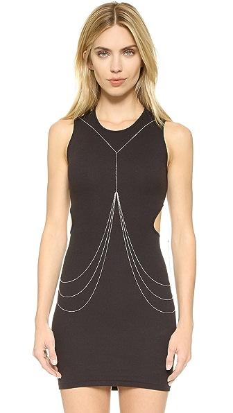 Rebecca Minkoff Triangle Stud Body Chain