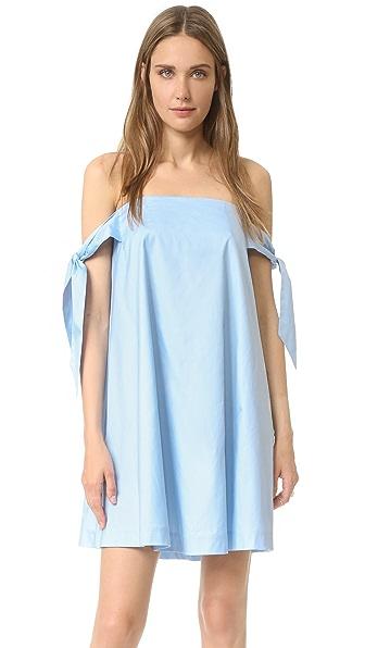 Rebecca Minkoff Платье Mackenzie с открытыми плечами