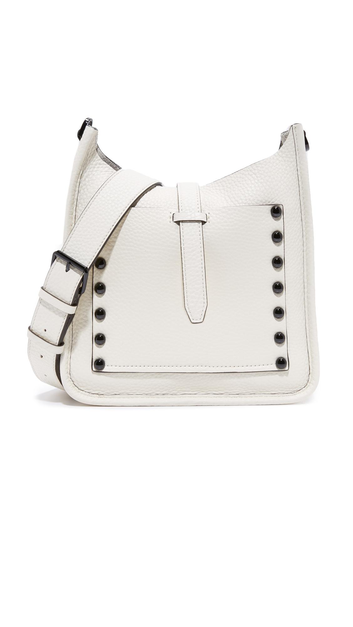 rebecca minkoff female 45883 rebecca minkoff small unlined feed bag antique white