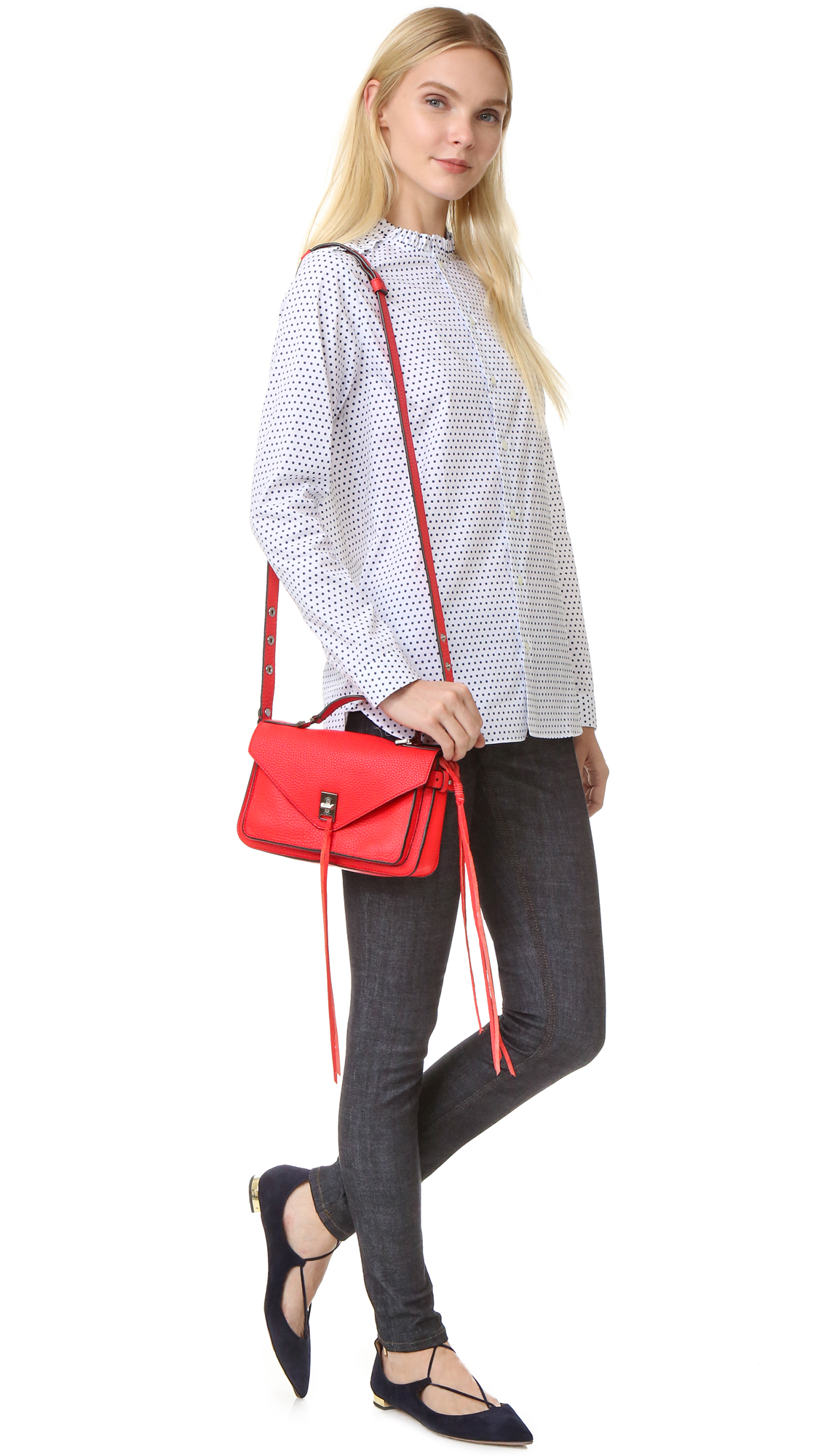 d0f209b2cd Rebecca Minkoff Small Darren Messenger Bag