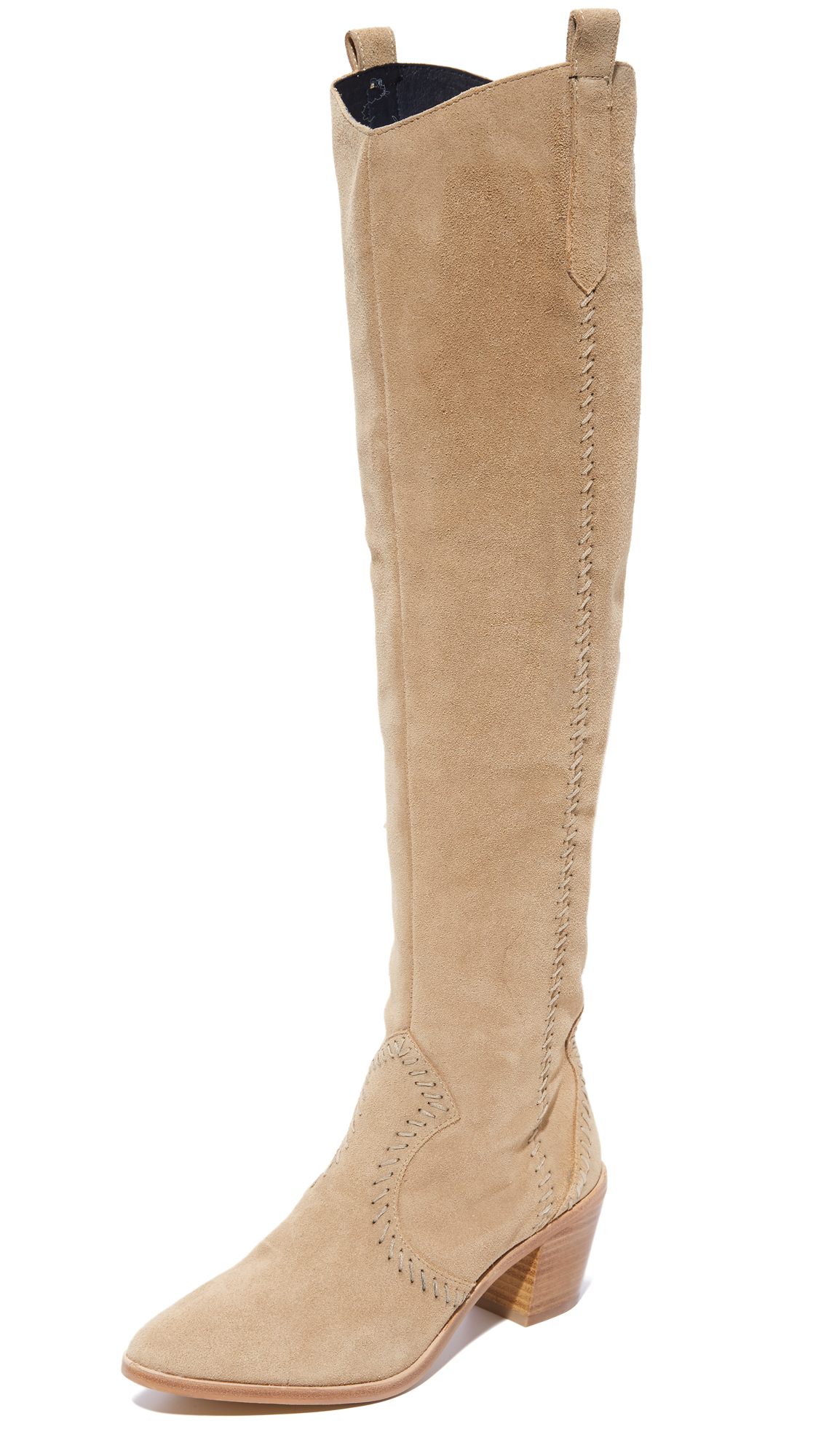 rebecca minkoff female rebecca minkoff lizelle over the knee boots taupe