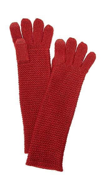 Rebecca Minkoff Garter Stitch Texting Gloves