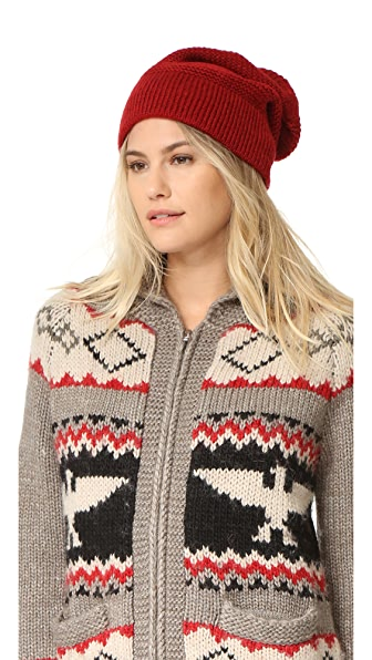 Rebecca Minkoff Garter Stitch Headphone Beanie