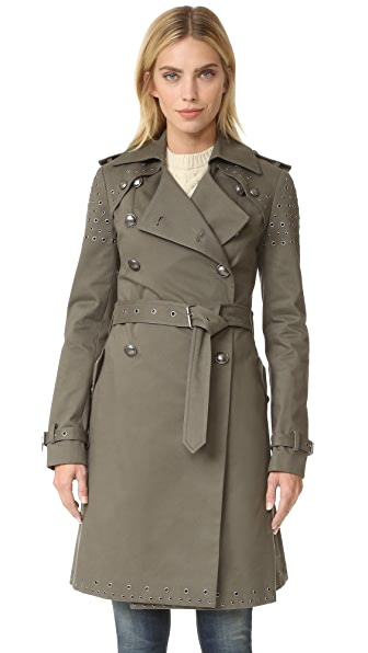 Rebecca Minkoff Amis Coat with Grommets