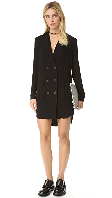 Rebecca Minkoff Leslie Double Breasted Dress