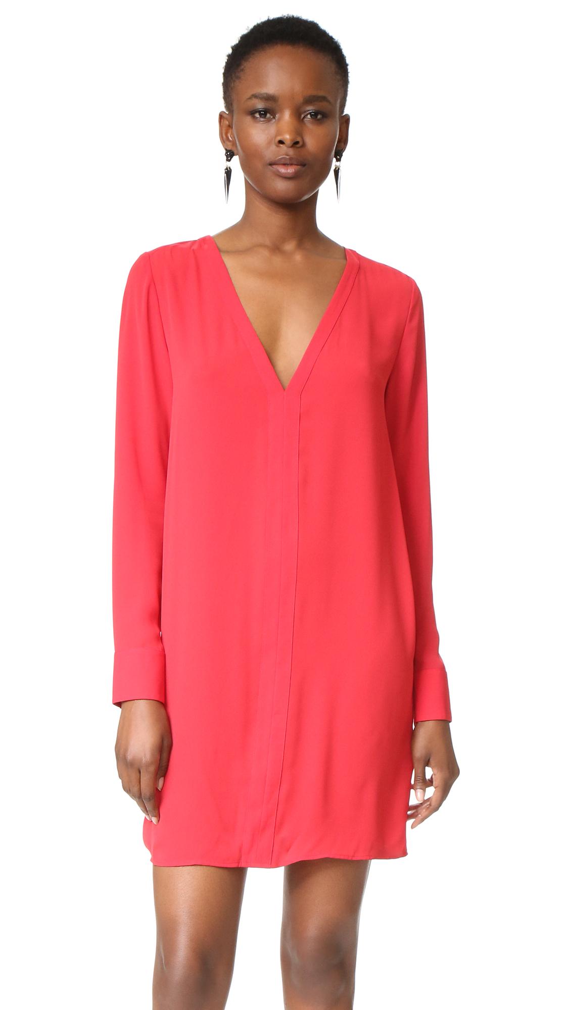 Rebecca Minkoff Coma Dress - Crimson