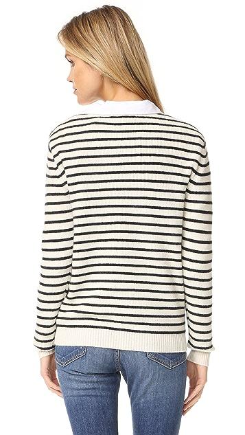 Rebecca Minkoff Prim Striped Sweater