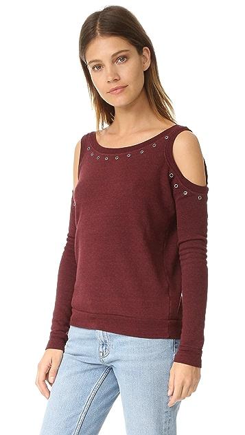 Rebecca Minkoff Bunny Sweatshirt with Grommets