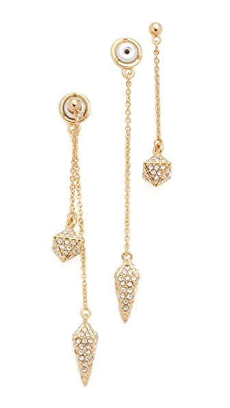 Rebecca Minkoff Dangling Stud & Spike Earrings