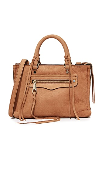 Rebecca Minkoff Micro Regan Satchel - Almond