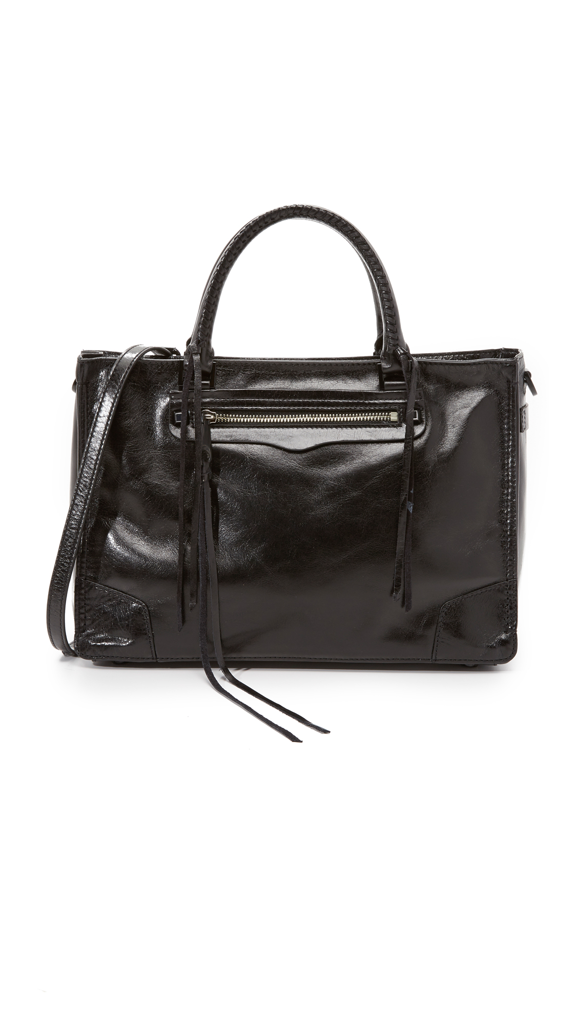 Rebecca Minkoff Regan Satchel - Black