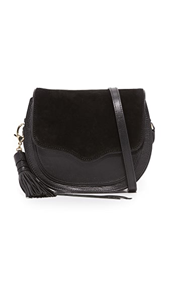 Rebecca Minkoff Large Suki Saddle Bag - Black