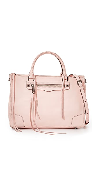 Rebecca Minkoff Regan Satchel - Pale Blush