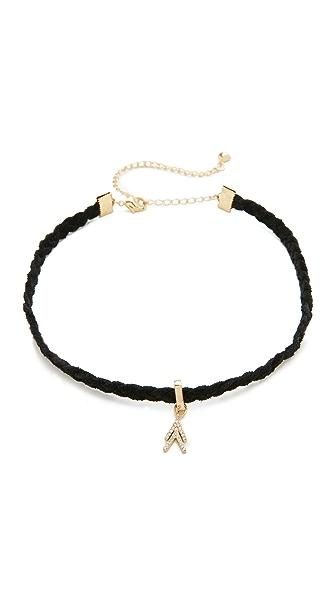 Rebecca Minkoff Arrows Choker Necklace