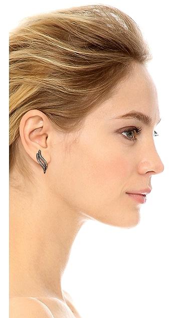 Rebecca Minkoff Swirl Stud Earrings