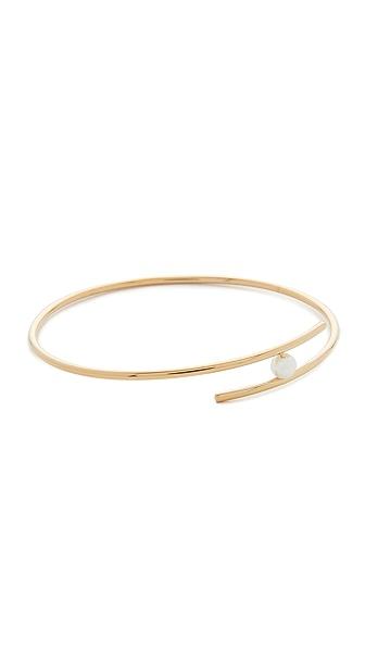 Rebecca Minkoff Metal Linear Interlock Bracelet